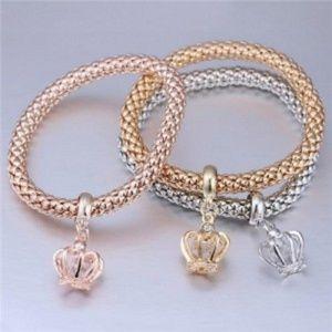 3 pcs Set Costume Bracelet - Crown